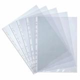 10 pochettes plastiques perforées A4